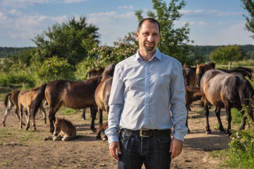 Dalibor Dostál - Patnáct hodin práce denně, žádný volný víkend, roky téměř bez dovolené. Záchrana divokých koní přináší extrémní nasazení