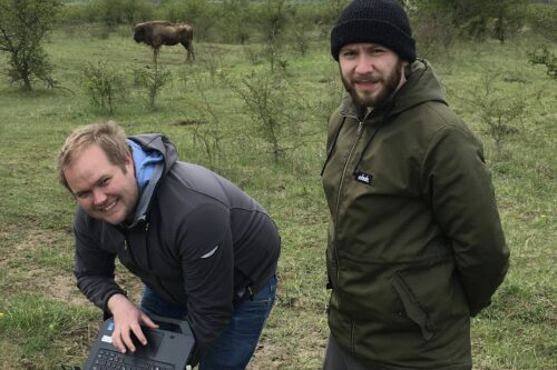 Mezinárodní projekt začíná v milovické rezervaci velkých kopytníků. Vědci tam zkoumají opylování rostlin